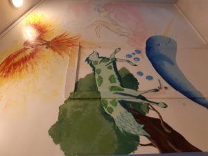 Veggmaleri Steinerskoleelever okt 2020 1